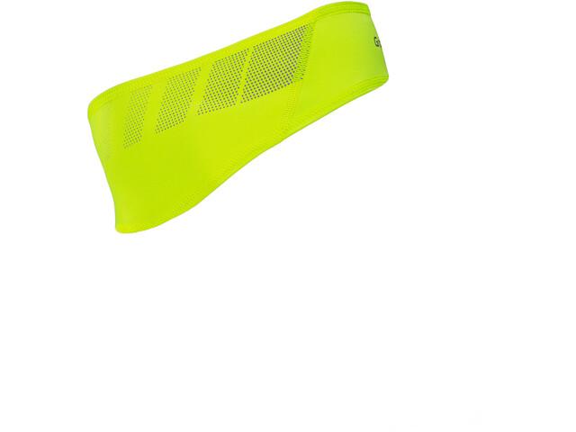 GripGrab Windproof Hi-Vis Hi-Vis Headband fluo yellow